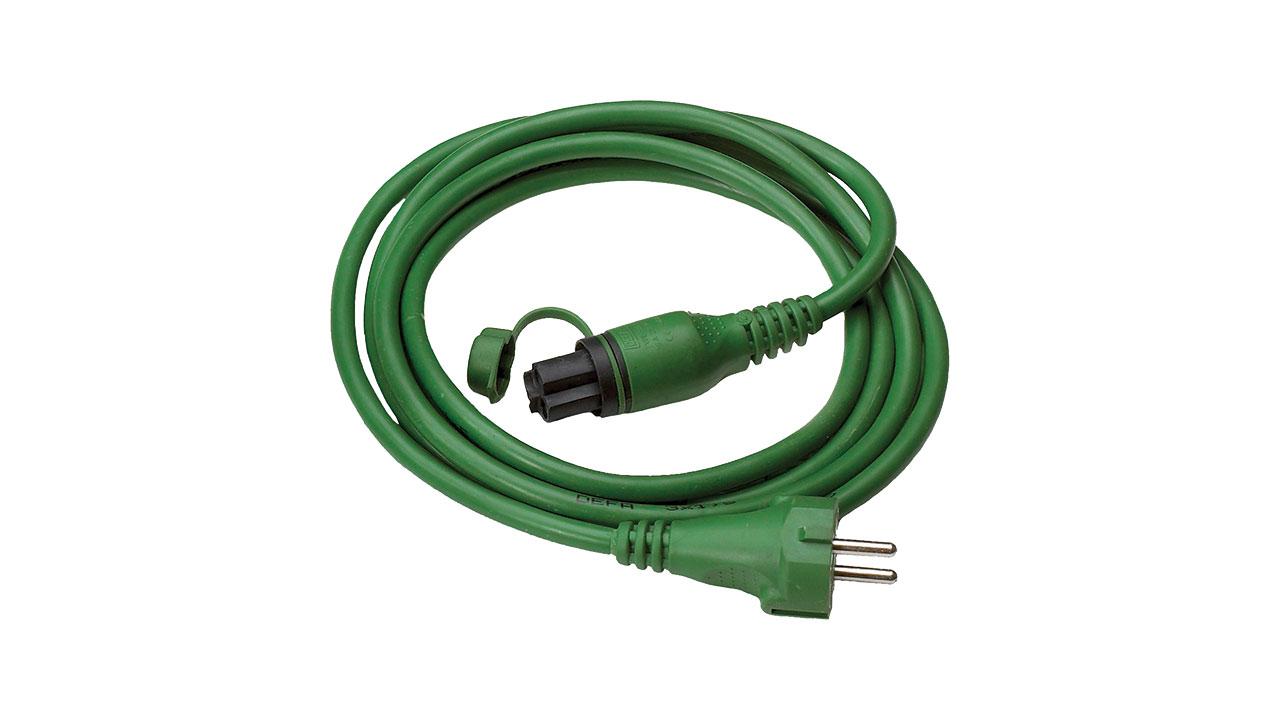 кабель defa зеленый 25m внешний 460920