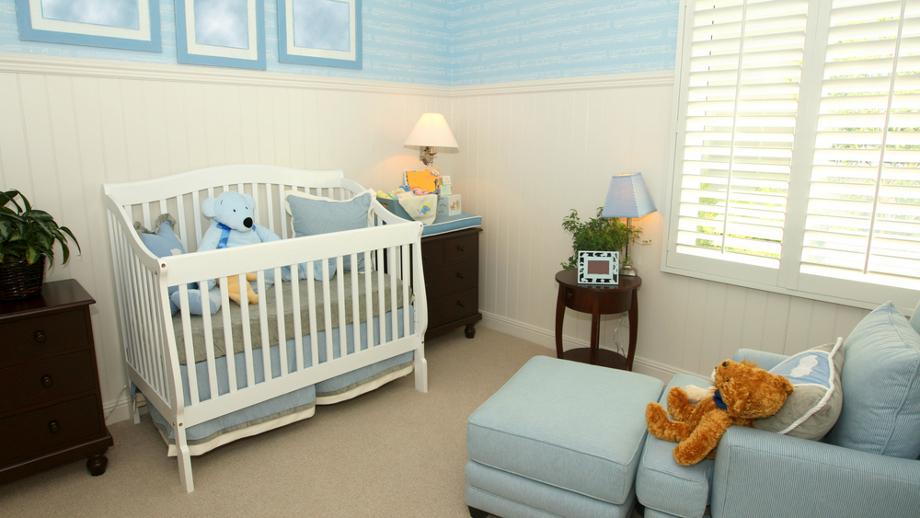 Masywnie Jak urządzić kącik dla niemowlaka w sypialni? - Allegro.pl NJ76