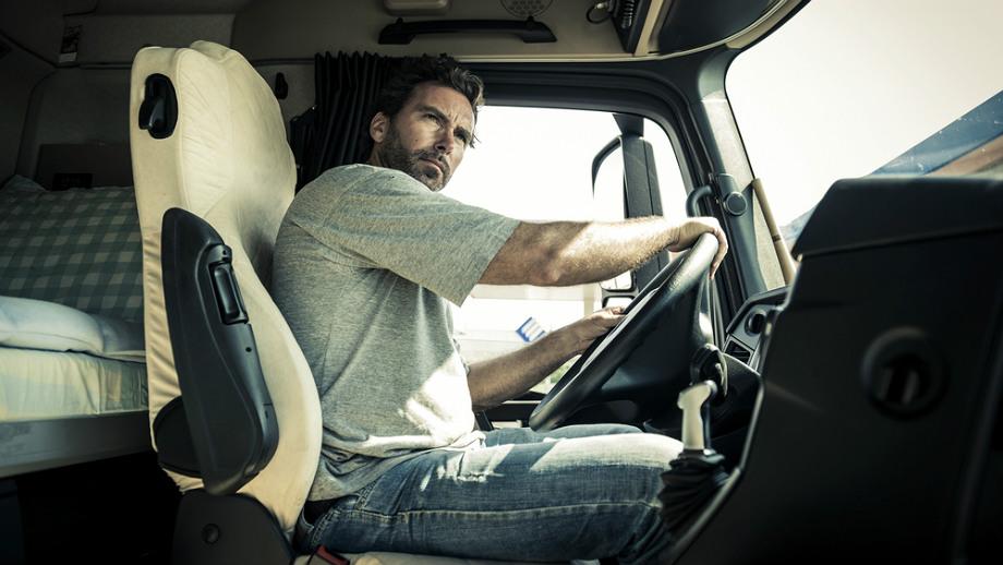 Kabina mojej ciężarówki – moje królestwo