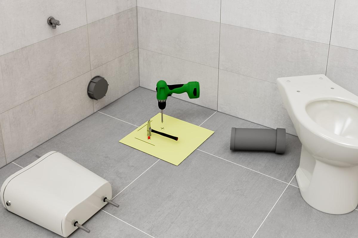 assembly WC kompaktné 2