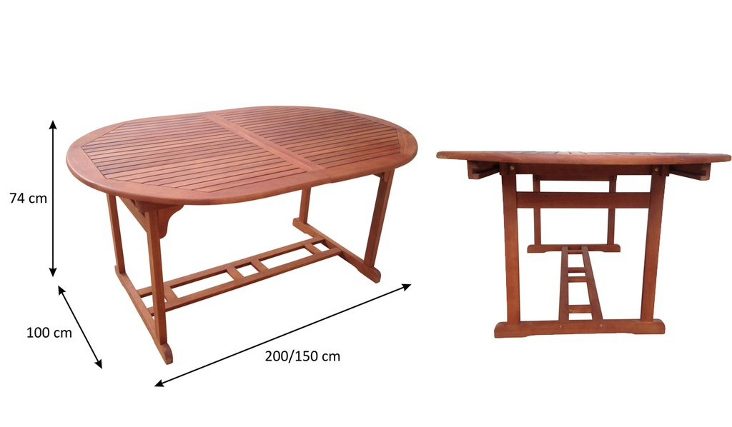 Набір садових меблів NAC VANAMO-коричневий