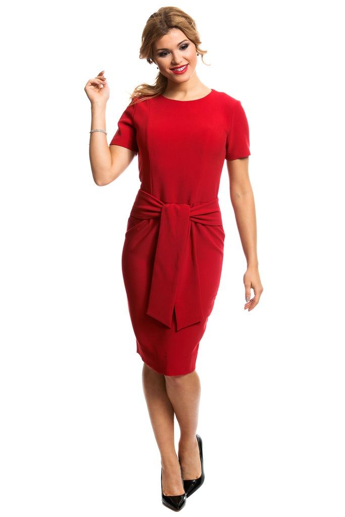 Sukienka ECHO MALTA 2-16912-116110-080230 czerwony M