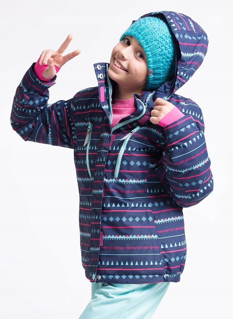 4f kurtka dziecięca zimowa jkudn402a