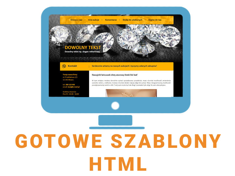 Gotowe Szablony Html Szablon Internetowy Automat 6840748485 Oficjalne Archiwum Allegro