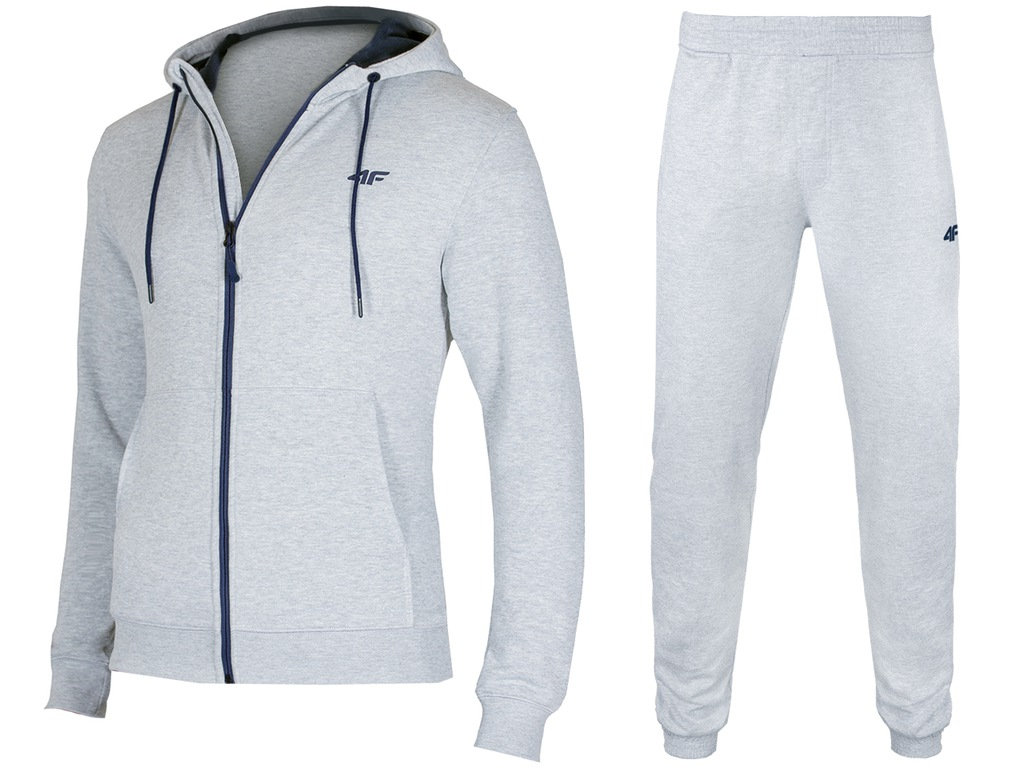 4F Dresy Męskie Komplet Bluza Spodnie L18 L