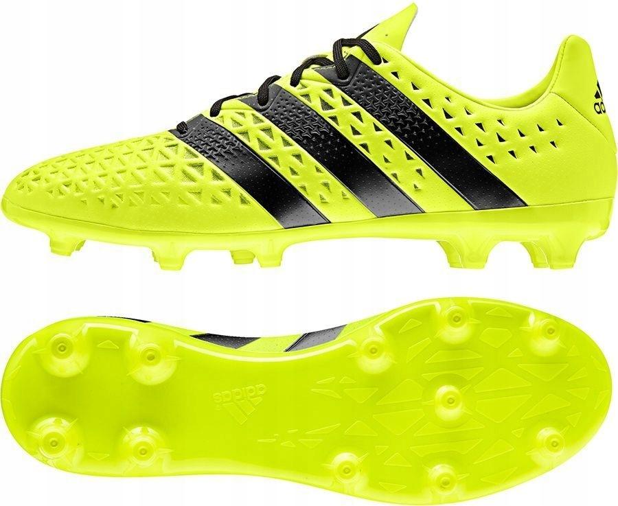 Adidas Buty piłkarskie ACE 16.3 FG zielono czarne