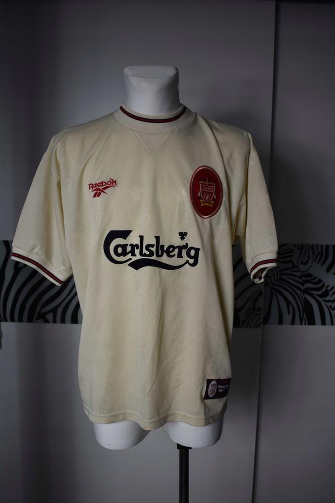 Liverpool 1996 - 1997 reebok koszulka sportowa