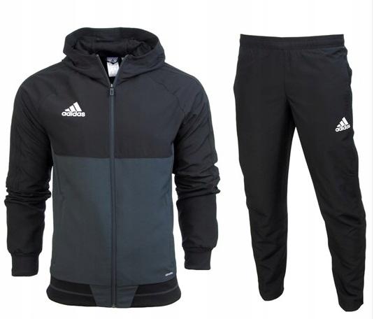 Dres Adidas kompletny męski Tiro 17 Climalite