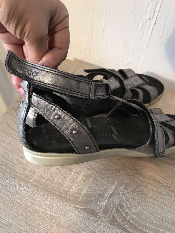 Ecco 39 sandały skóra