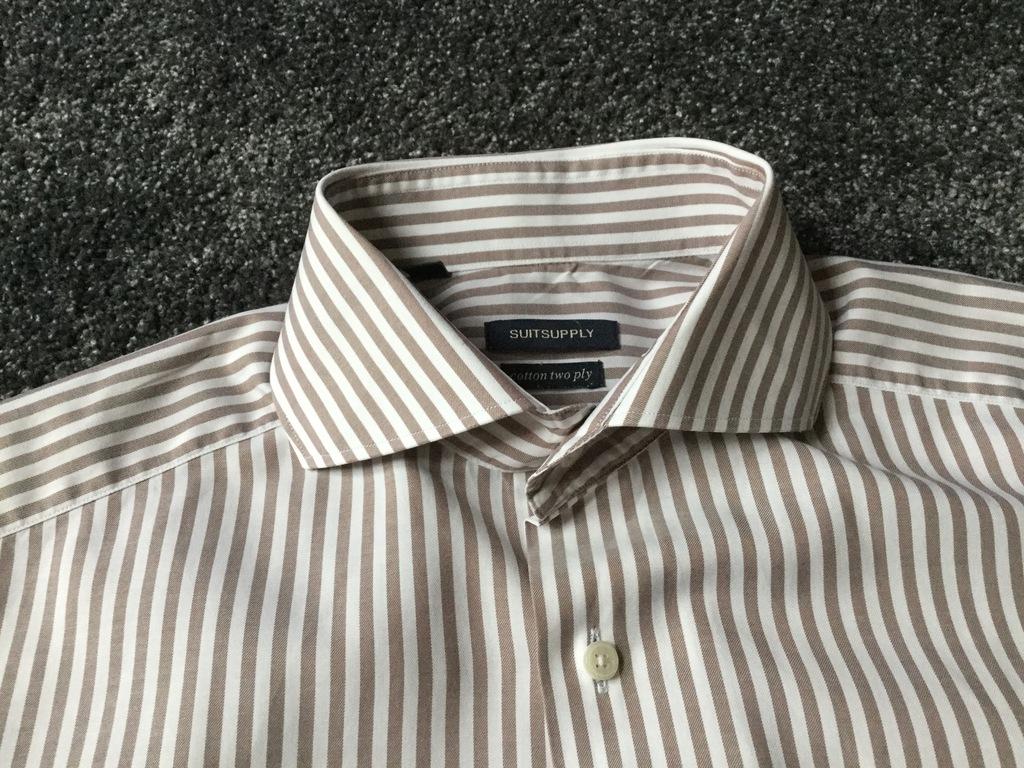 Ekskluzywna koszula Suitsupply 39 ideał ! 7741761767  NG8kN