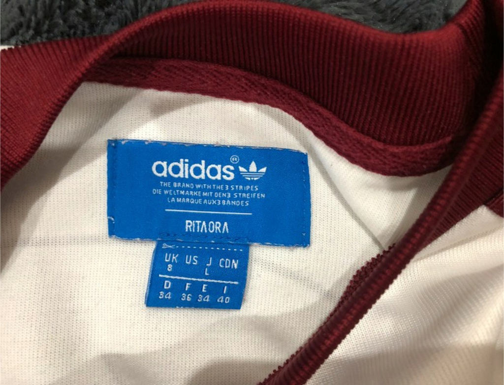 Krótka bluza Adidas Rita Ora crop top