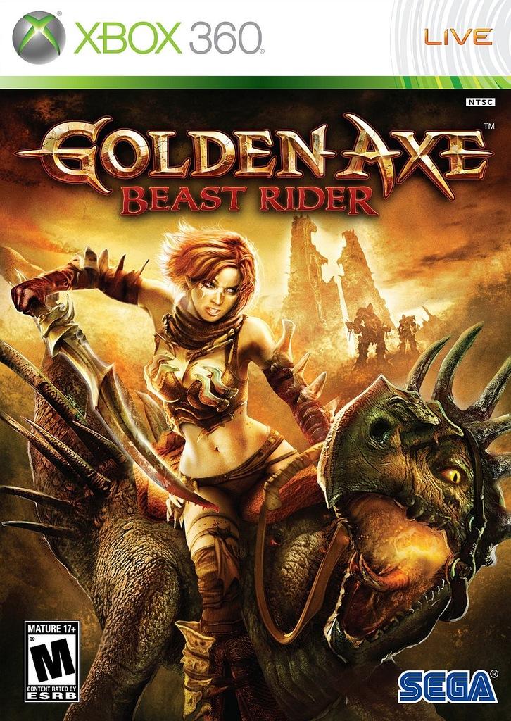Golden Axe Beast Ride Xbox 360 6788410605 Oficjalne Archiwum Allegro