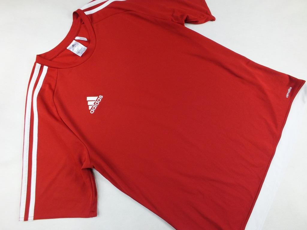 Adidas Climalite czerwona sportowa L