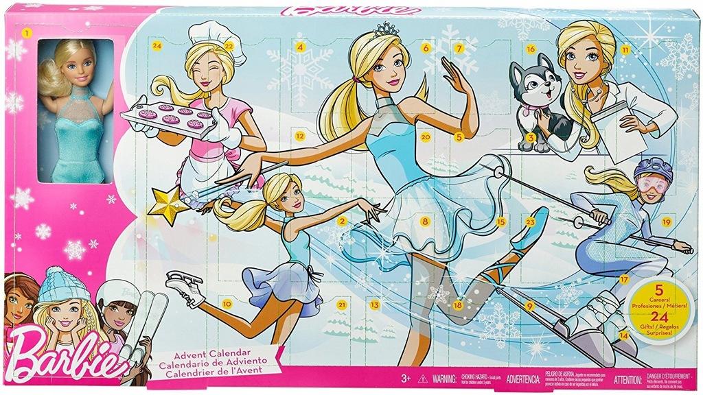 Barbie Kalendarz Adwentowy 2018 Fgd01 7685520968 Oficjalne Archiwum Allegro