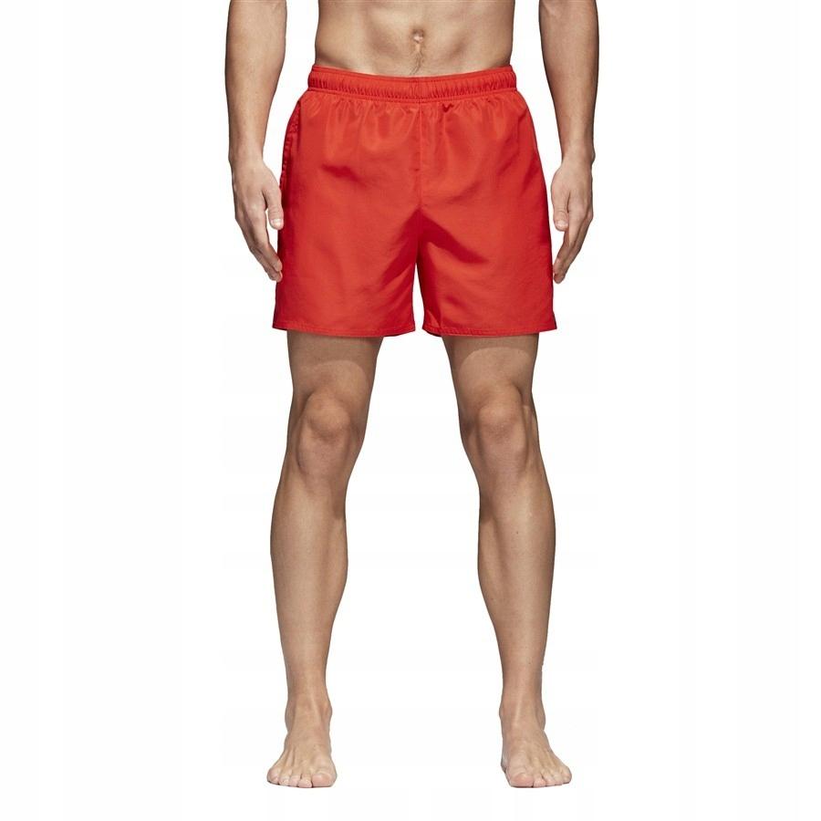 Szorty adidas Solid SH Sl CV5191 XL czerwony