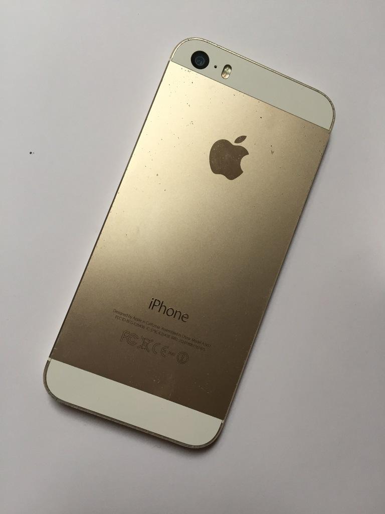 REZERWACJA OLX iPhone 5s 32GB złoty/gold - 7227831005 ...
