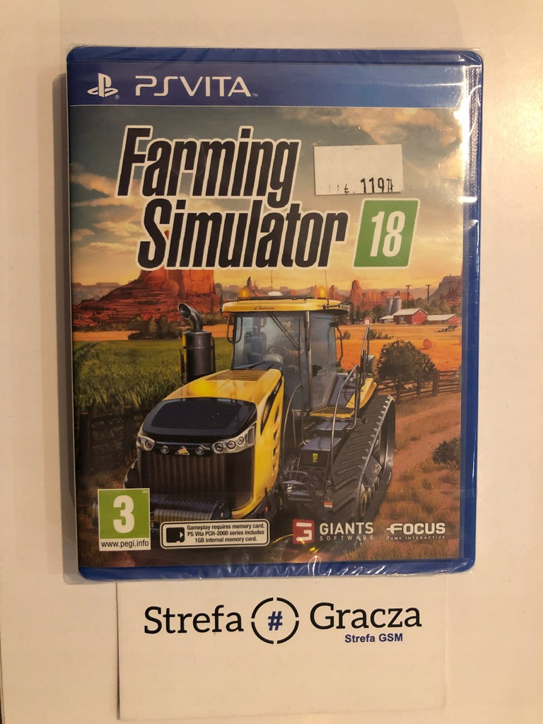 Farming Simulator 2018 / PS Vita / Nowa / Sklep