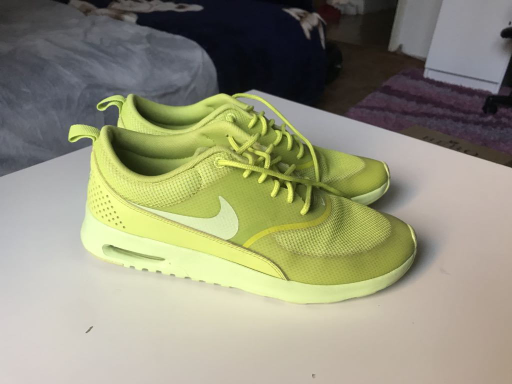Buty Nike Air Max Thea neonowe 39