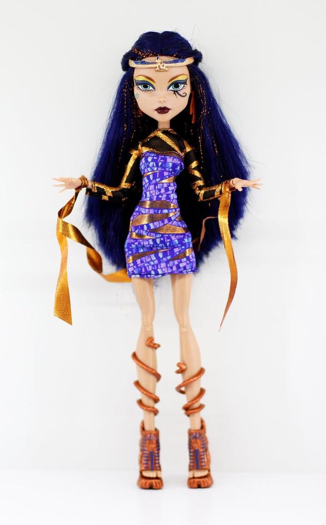 Monster High Cleo De Nile Boo York Unikat 7272254322 Oficjalne Archiwum Allegro