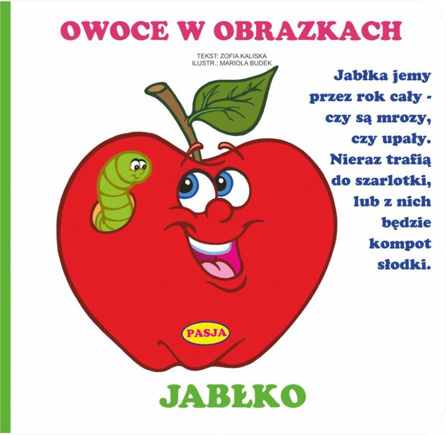 Owoce W Obrazkach Jabłko Zofia Kaliska 7387373143