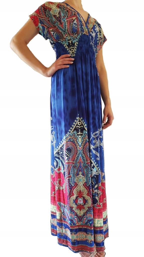 Sukienka Suknia Maxi Dress Xl Xxl J X Lato2018 7482373999 Oficjalne Archiwum Allegro