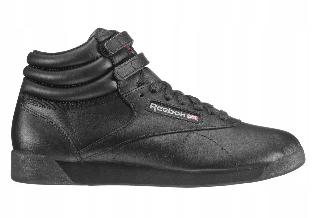 Buty Damksie Sneakersy Reebok Freestyle Hi 2240 | CZARNY