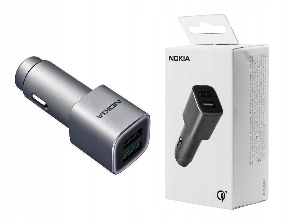 Ładowarka samochodowa Nokia QC 3.0 do Nokia 2.1
