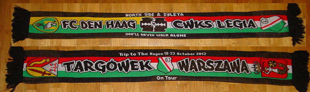 "Szal Legia ""Targówek - trip to the Hague''"