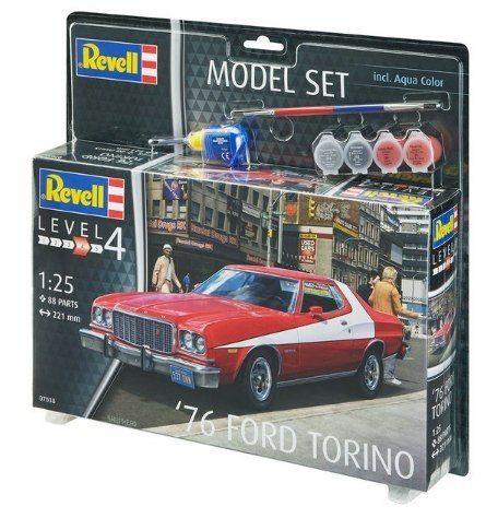 Model Do Sklejania Revell Ford Torino 76 Farby 7352103243 Oficjalne Archiwum Allegro