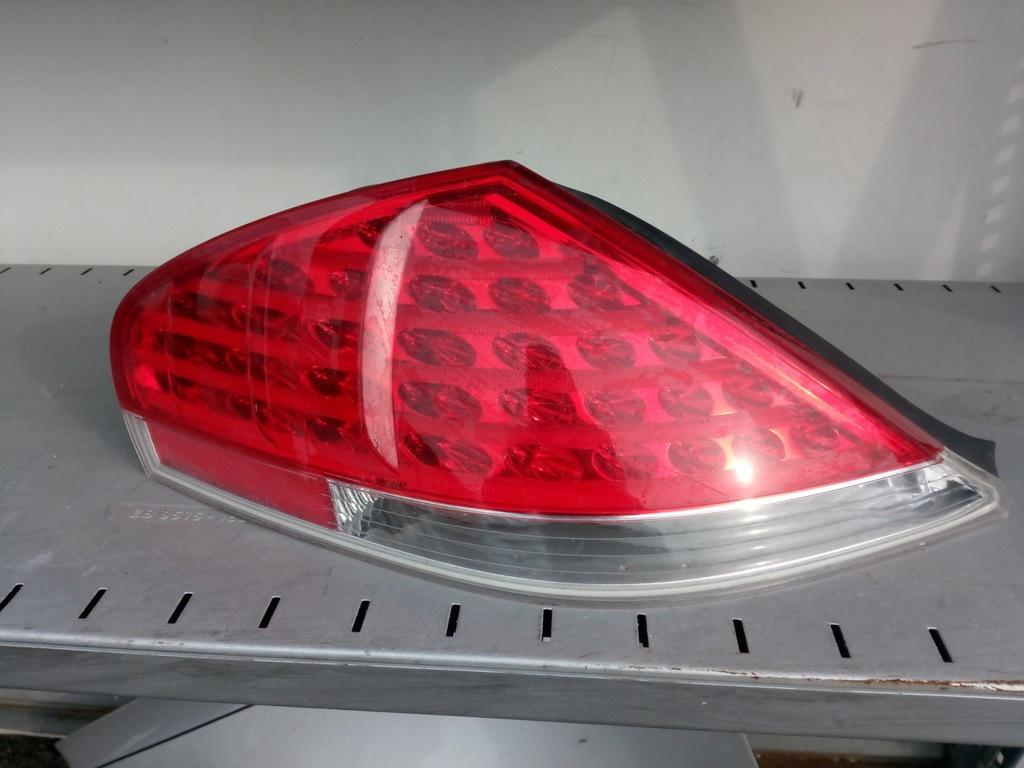 bmw e63 lampy led tyl uszkodzone