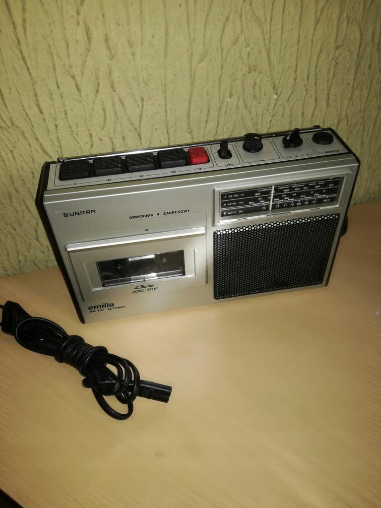 Radiomagnetofon EMILIA RM-407 - UNITRA