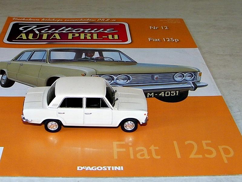 Kultowe Auta Prl Fiat 125p Nr 12 Deagostini 7575427672 Oficjalne Archiwum Allegro