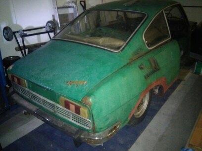 SKODA S 110 R COUPE - 1975 - do renowacji