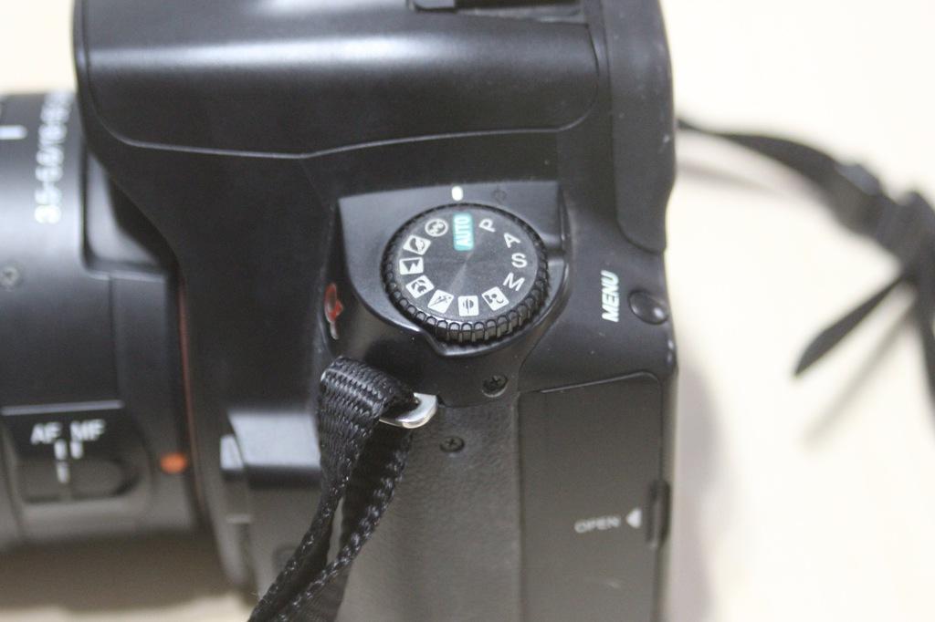 Aparat SONY ALFA 230 Obiektyw Sony 18 55mm 3.5 55