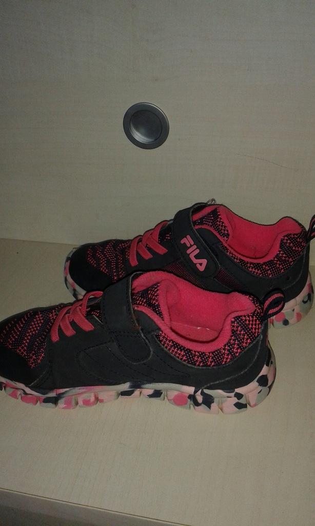 Fila adidasy sportowe dla dziewczynki, r.29, BDB+