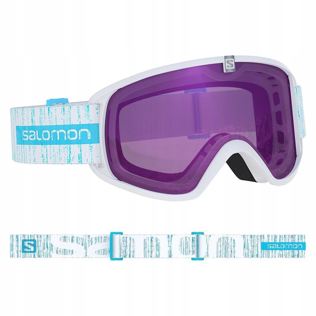 Gogle narciarskie Salomon Force ML W white white