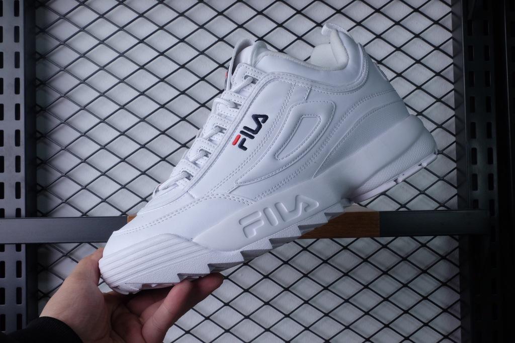 buty fila męskie białe podróbki