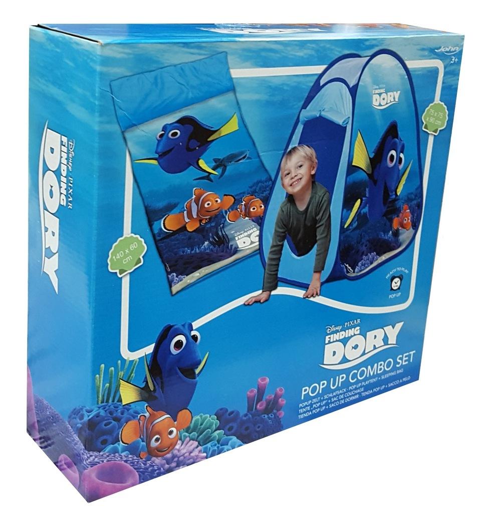 Namiot śpiwór dla dzieci komplet Nemo Doris 6938769282