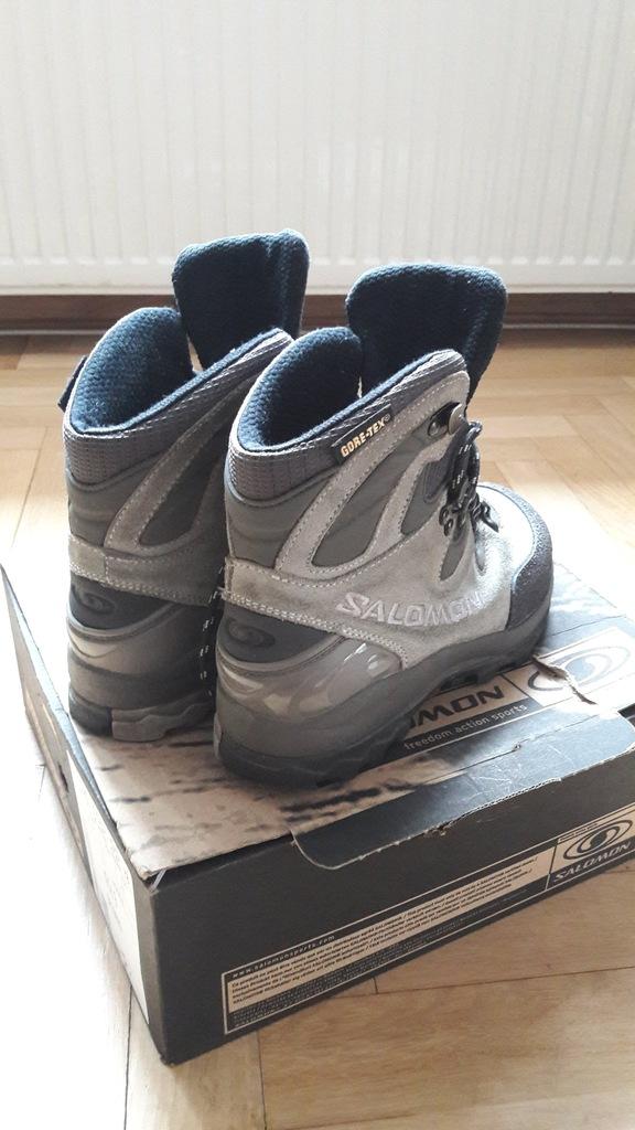 SALOMON buty trekkingowe turystyczne rozmiar 37
