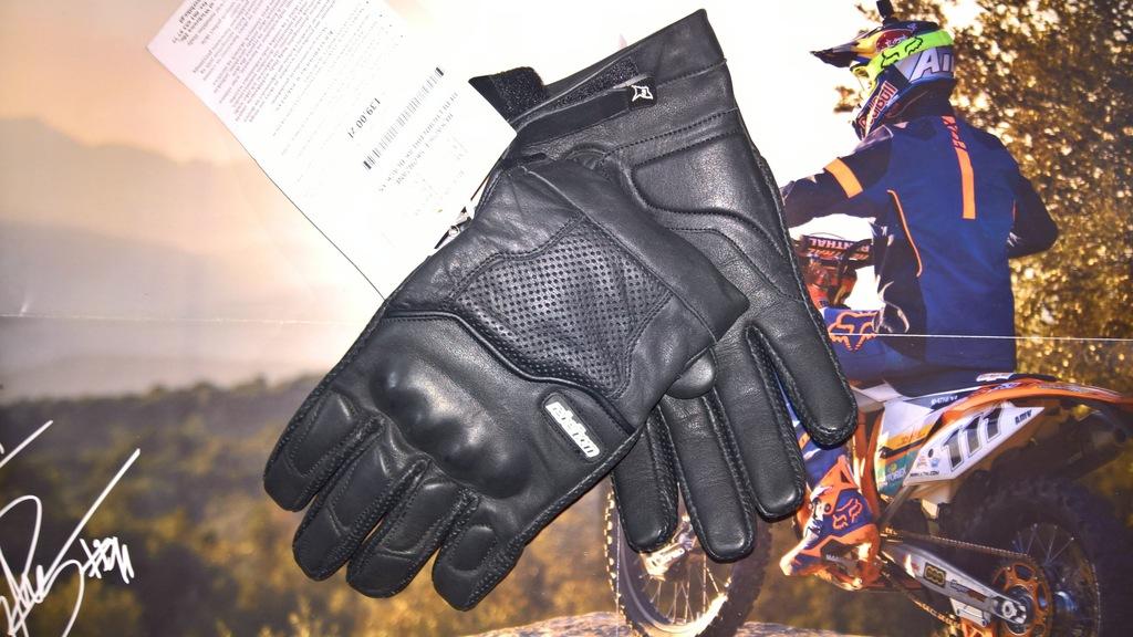 Rękawice Rebelhorn Break Black roz. XS