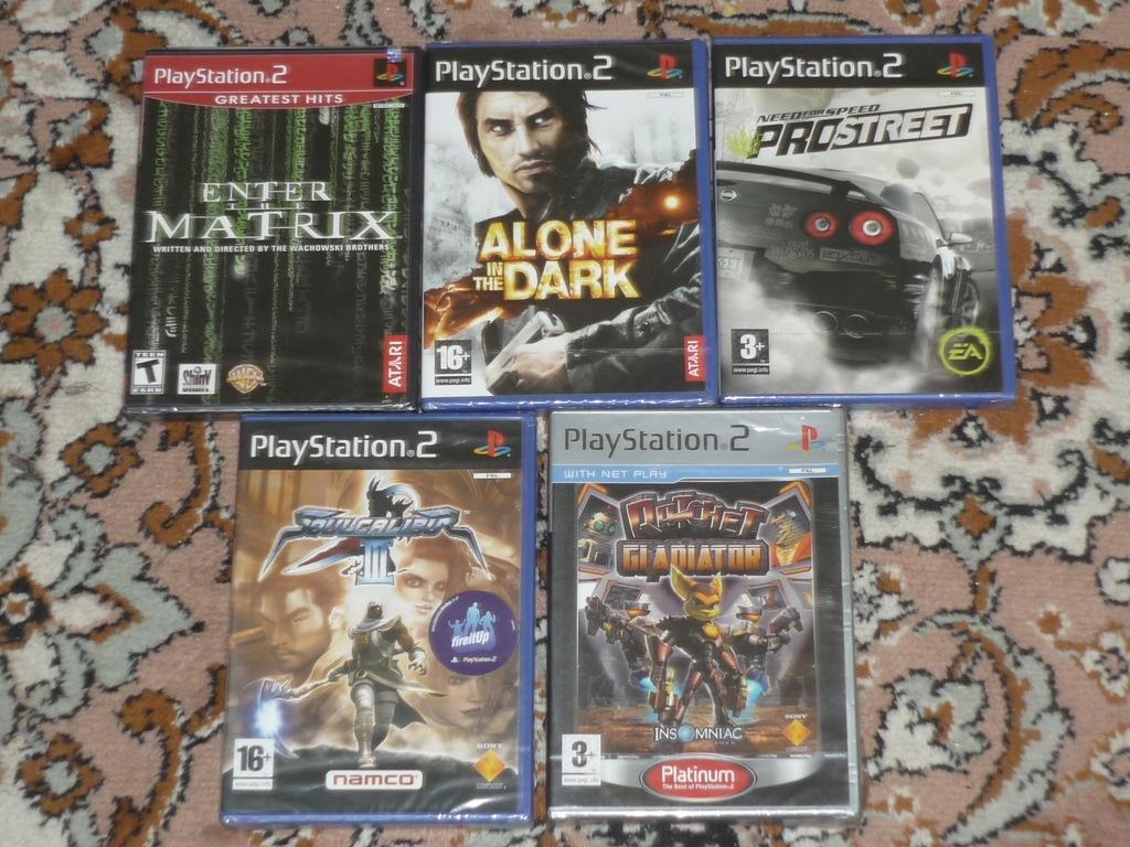 Zestaw Nowych Gier Ps2 Playstation Gry Ps 2 Folia 7697591910 Oficjalne Archiwum Allegro