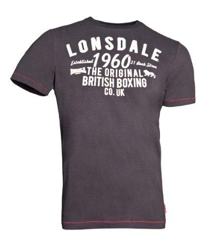T-shirt Lonsdale London Norwich szary XL