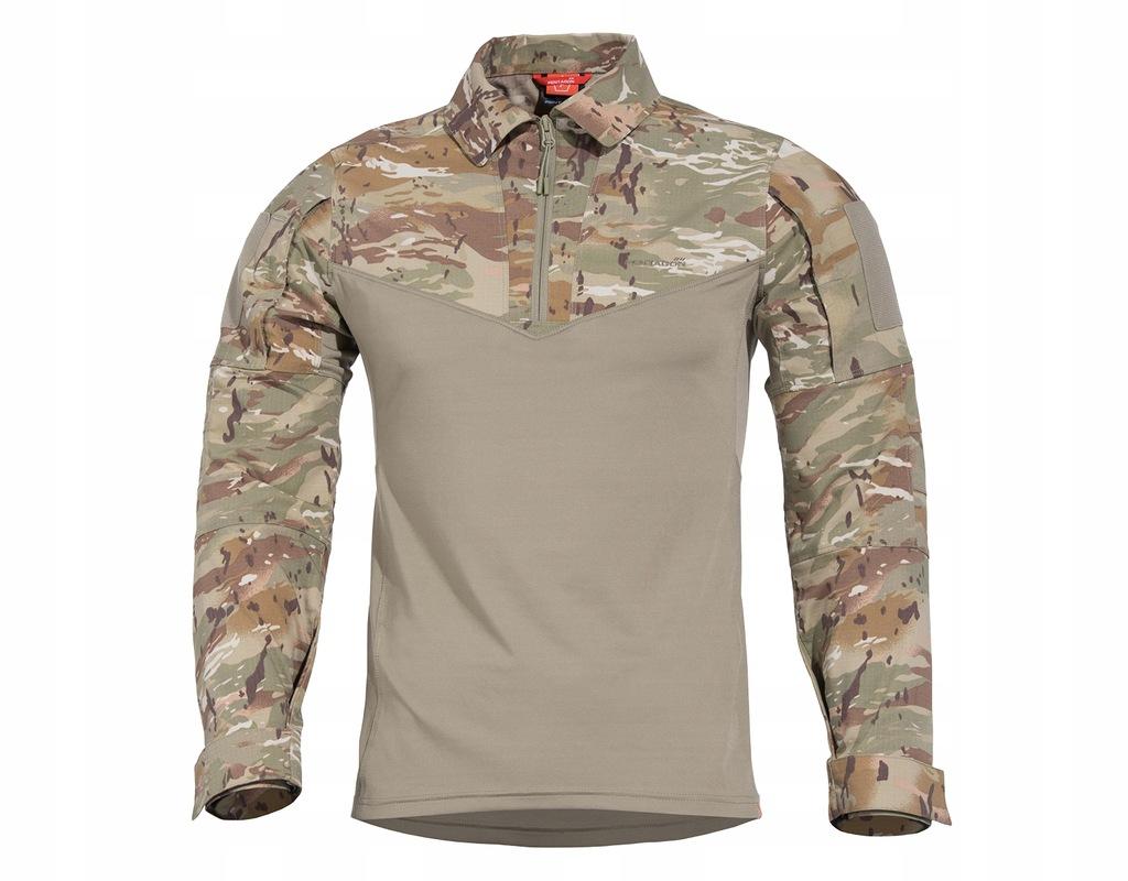 bluza pentagon ranger combat shirt czarna