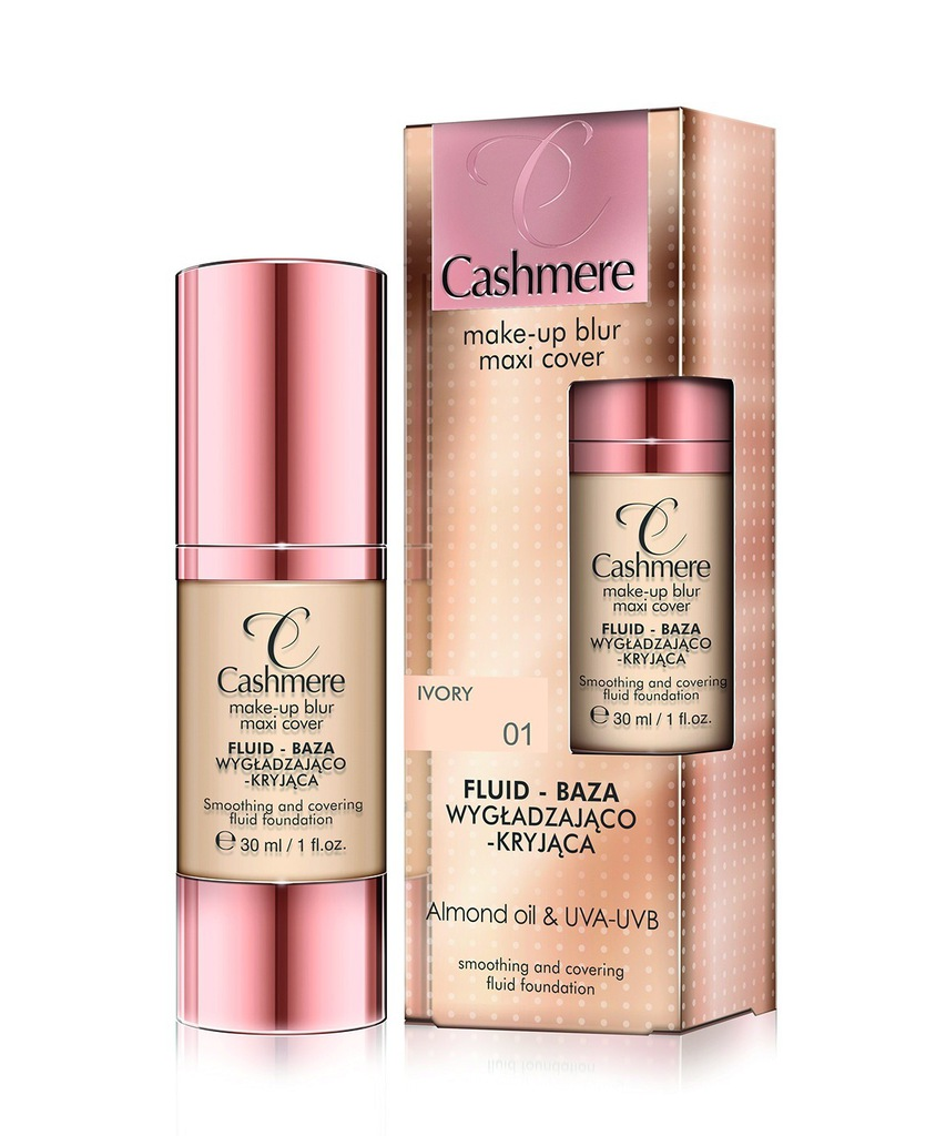Cashmere Fluid-Baza wygładzająco-kryjąca Nude 02