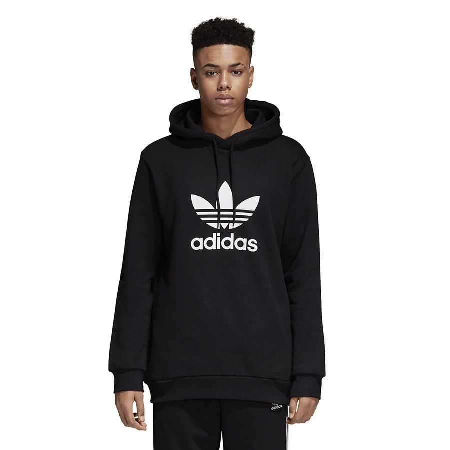 Bluza męska Trefoil Warm Up Adidas (szara)