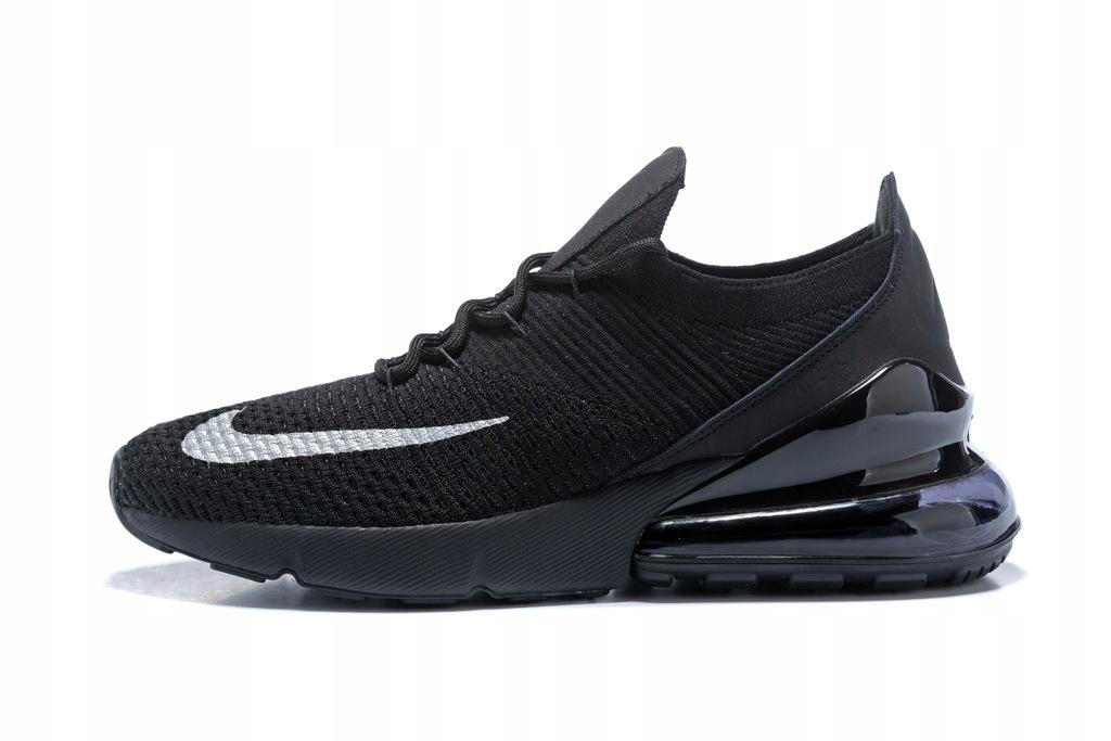 Buty Nike Air MAX 270 flyknit Black r.45 lato 18!