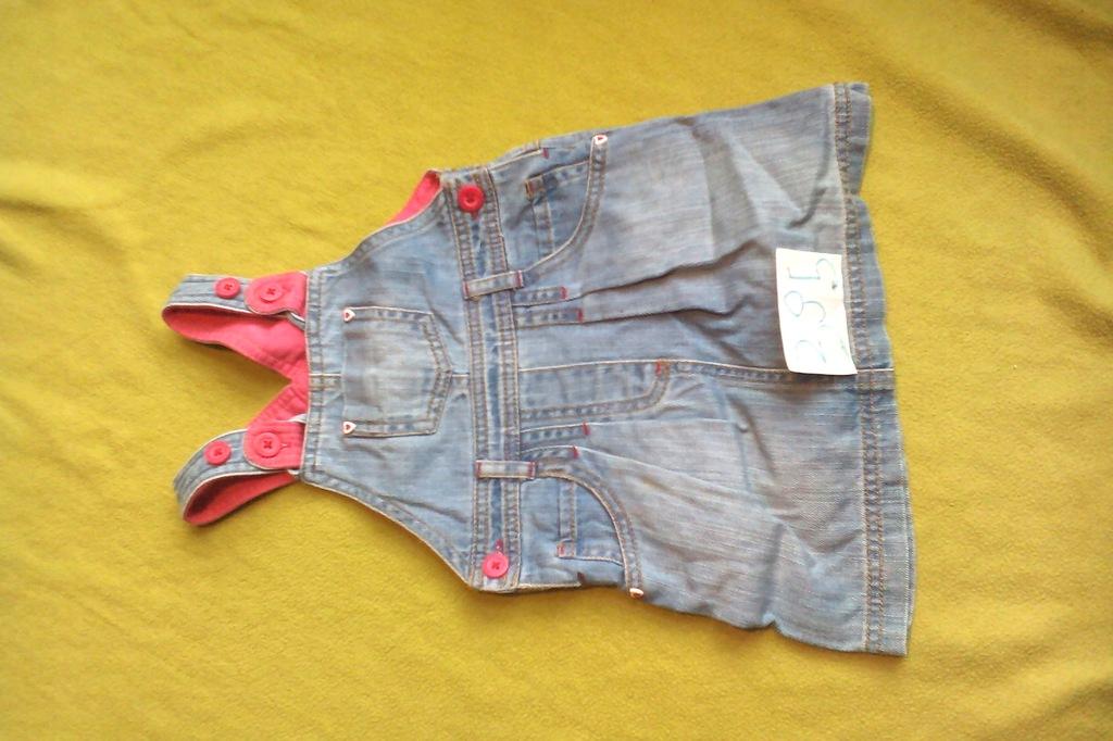 Tunika sukienka Marks&Spencer 12-18 m-cy 86 cm