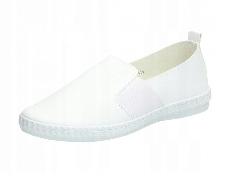 Białe tenisówki, buty damskie McKeylor 7911 r36