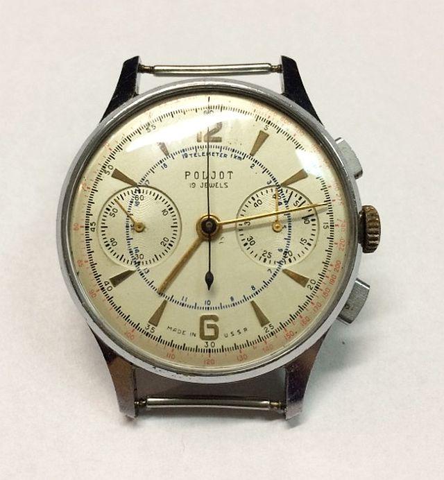 Zegarek Poljot 3017 Strela Chronograph + pudełko