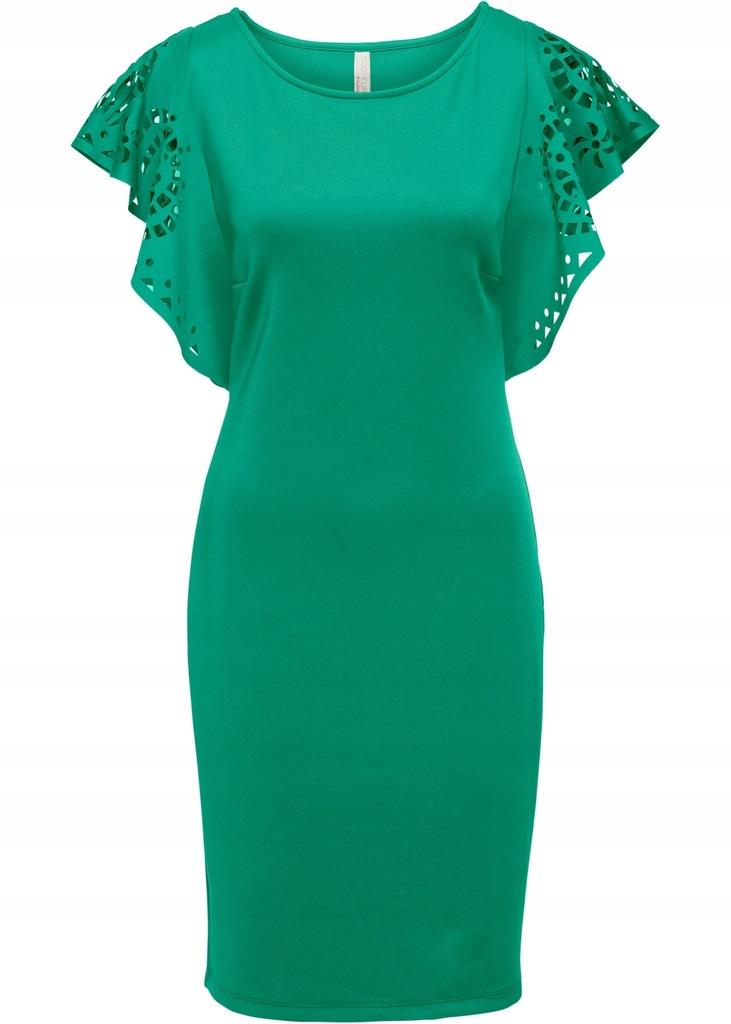 BONPRIX Sukienka z wycięciami na rękawach r. 4446